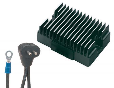 how to change a voltage regulator on a harley davidson